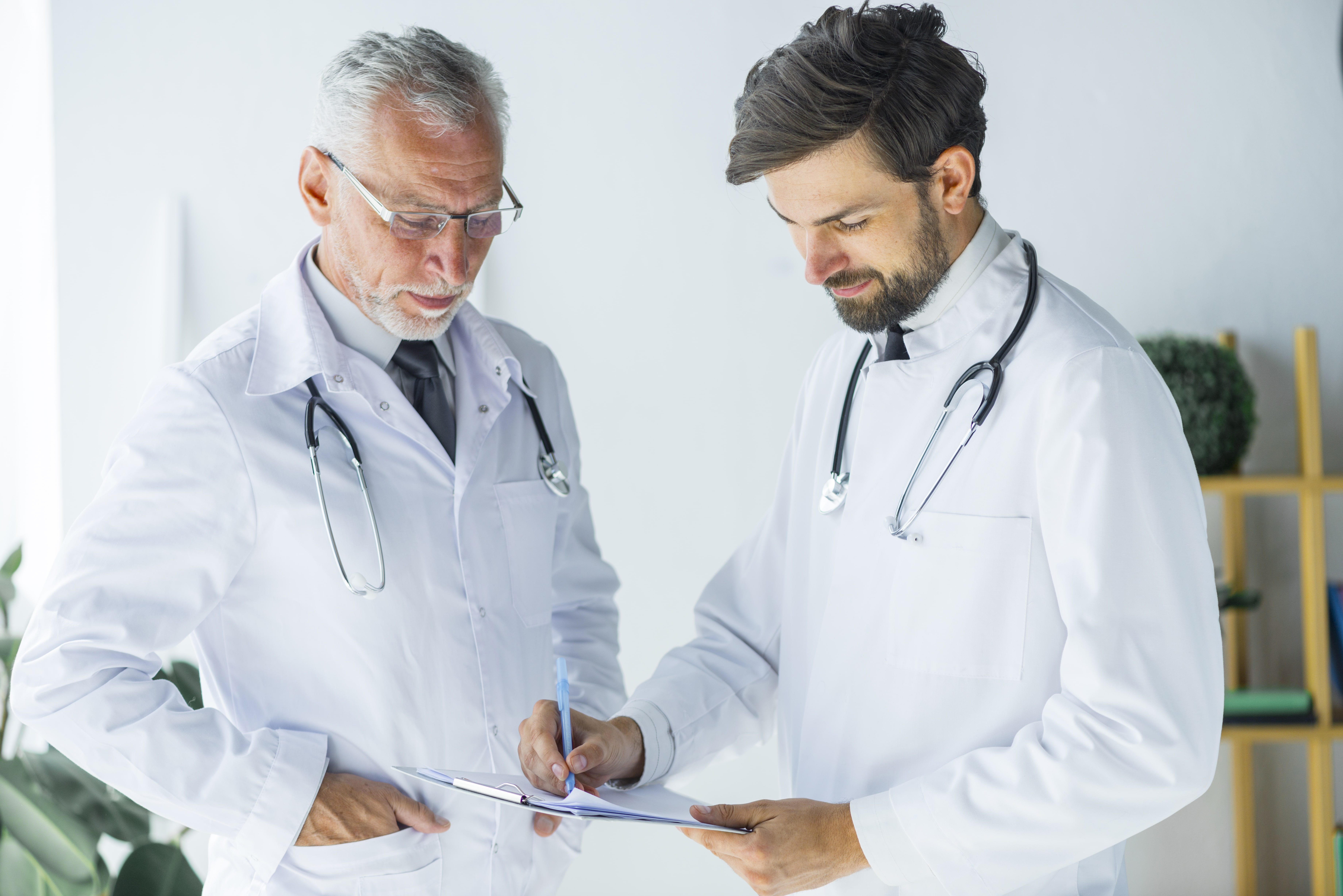 Doctor and Student Doctor