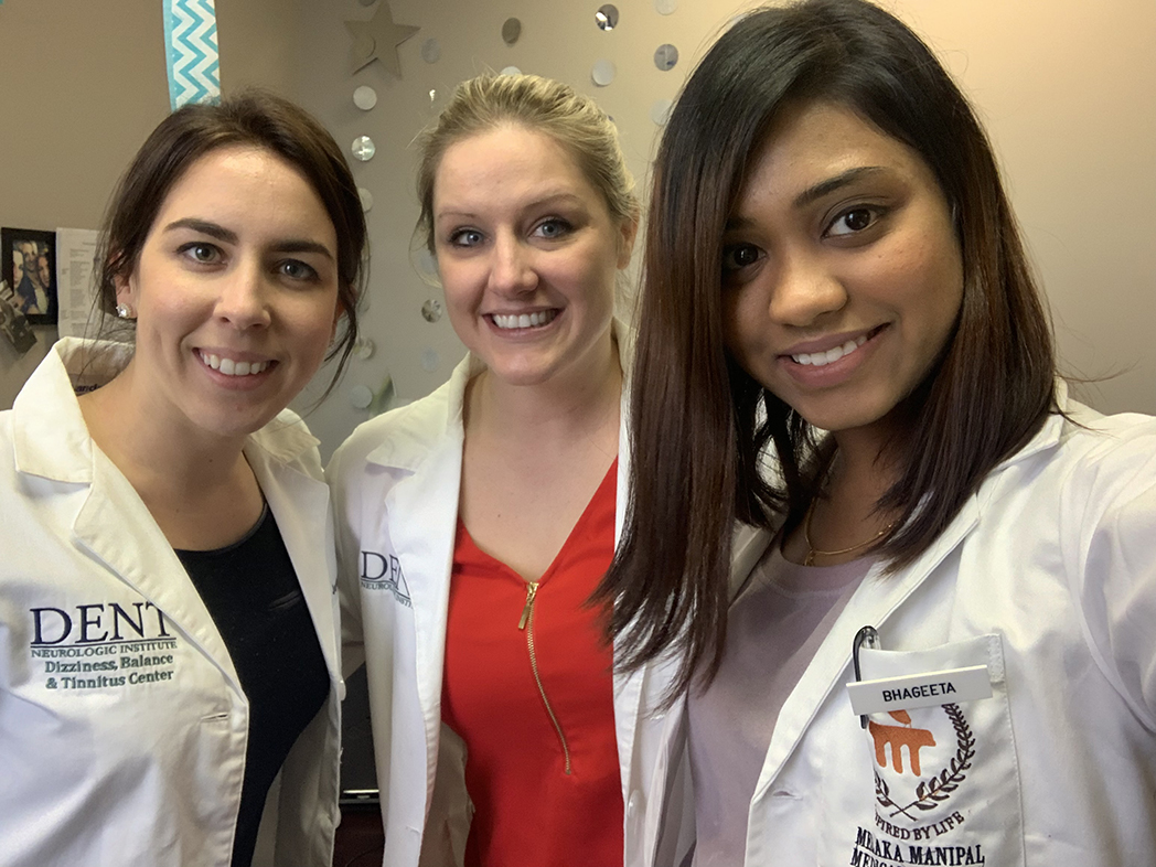 Bhageeta traveled to India for her U.S. clinical rotation in neurology in Amherst, New York