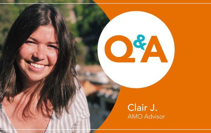 Meet AMO Advisor Clair